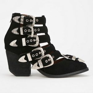 Jeffrey Campbell Baton Ankle Boot